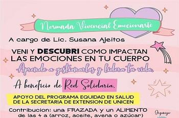 Jornada a cargo de la licenciada Susana Ajeitos