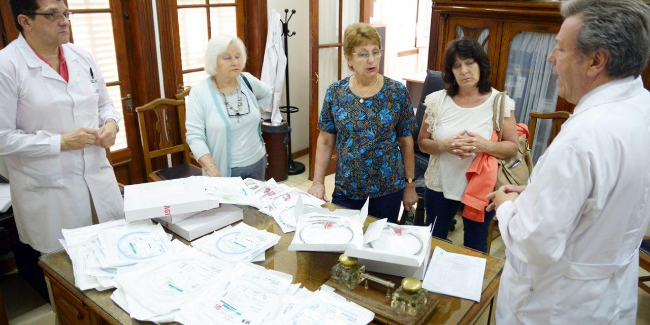 <span style='color:#e57026;font-size:15px;'>Detección temprana del cáncer de cólon</span><br/><span></span><p/>Donación de LALCEC Tandil al Hospital Santamarina