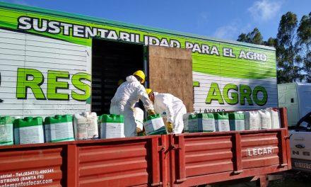 <span style='color:#e57026;font-size:15px;'>Tandil: recolección entre empresas locales</span><br/><span></span><p/>Recuperan más de 5000 envases de fitosanitarios