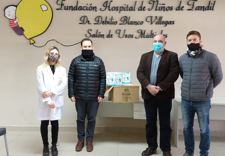 <span style='color:#e57026;font-size:15px;'>Aporte de la filial Tandil de la Cruz Roja Argentina</span><br/><span></span><p/>Donación de termómetros digitales
