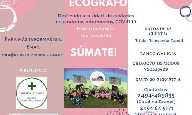 <span style='color:#e57026;font-size:15px;'>Aporte al Hospital Ramón Santamarina</span><br/><span></span><p/>Reinventar logró los fondos para donar un ecógrafo