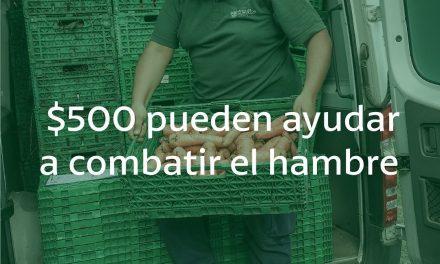 """<span style='color:#e57026;font-size:15px;'>""""Sumá un plato a su mesa""""</span><br/><span></span><p/>Colecta virtual de alimentos"""
