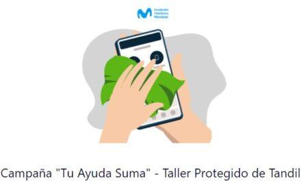 <span style='color:#e57026;font-size:15px;'>A la búsqueda de apoyo</span><br/><span></span><p/>El Taller Protegido Tandil, en una campaña nacional